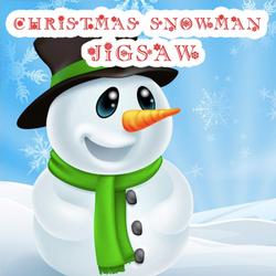 Christmas Snowman Jigsaw