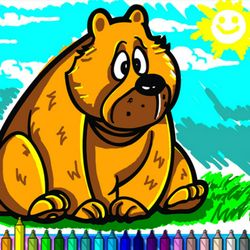 Coloring Book: Animals