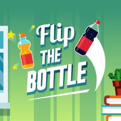 Flip The Bottle Game