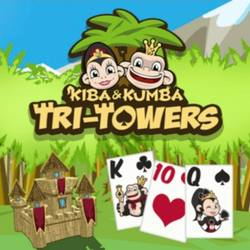 Kiba & Kumba: Tri-Towers Solitaire