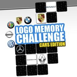 Logo Memory Challenge: Cars Edition