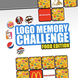 Logo Memory Challenge: Food Edition