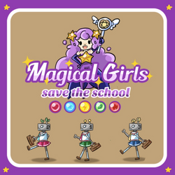 Magical Girls: Save the school