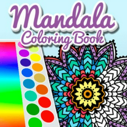 Mandala Coloring Book Game
