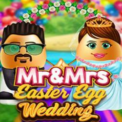 Mr & Mrs Easter Egg Wedding