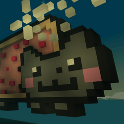 Parkour Race: Nyan Cat