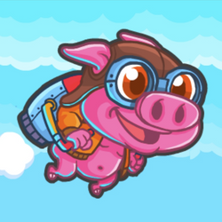 Rocket Pig
