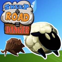Sheep + Road = Danger