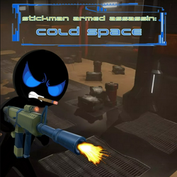 Stickman Armed Assassin: Cold Space