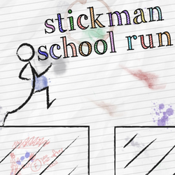 Stickman School Run