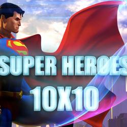 Superheroes 10x10
