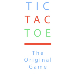 Tic Tac Toe The Original Game