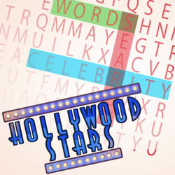 Words Search: Hollywood Stars